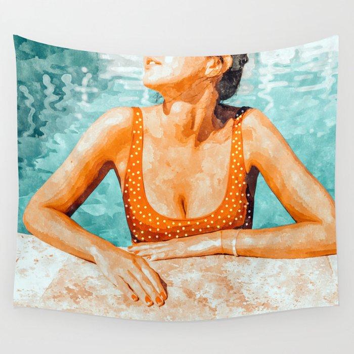 Mi Bebida Por Favor #painting #summer Wall Tapestry