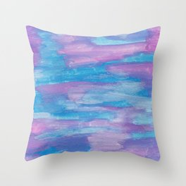 Oceans and Sky Throw Pillow
