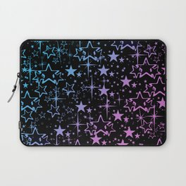 Colorful star pattern  Laptop Sleeve