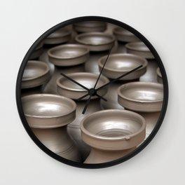 Drying Pots Bhakatpur Wall Clock