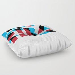 Illusration (Overprint Series) Floor Pillow