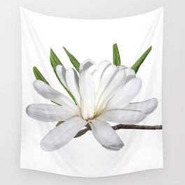The Flower is the Star (Magnolia) Wall Tapestry