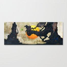 Alien Explorer Canvas Print