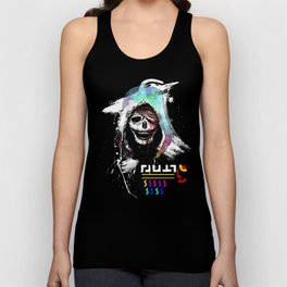 El Huervo - Death's Head Unisex Tank Top