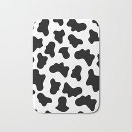Moo Cow Print Bath Mat