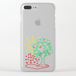 Treetop Clear iPhone Case