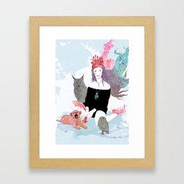 Fashion Sioux Framed Art Print