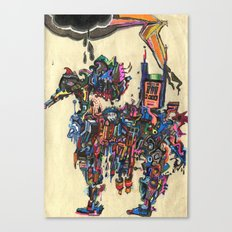 A Horse of a Different Color Canvas Print