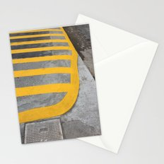 Yellow Crosswalk Stationery Cards