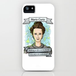 Marie Curie iPhone Case