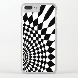 Wonderland Floor #5 Clear iPhone Case