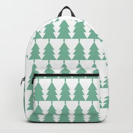 Tree Line Pattern Backpack