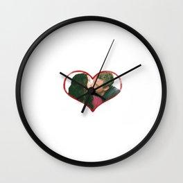 Lexie and Mark Wall Clock