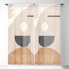 Minimal Geometric 116 Blackout Curtain