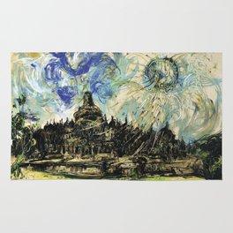 Borobudur Temple Rug