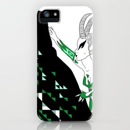 Capricorn / 12 Signs of the Zodiac iPhone Case