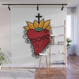 Sacred Heart Wall Mural