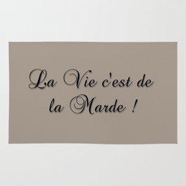La Vie C'est De La Marde! Rug