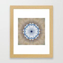 Kremlin Inspired Mandala Framed Art Print