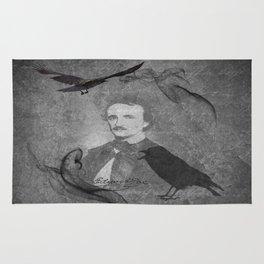 The Raven - E.A. Poe Rug