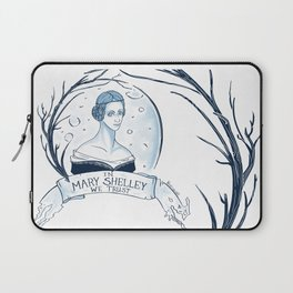 In Mary Shelley We Trust Laptop Sleeve