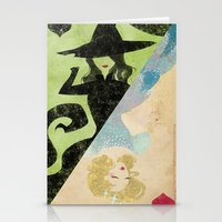 wicked Stationery Cards featuring Wicked by Serena Rocca