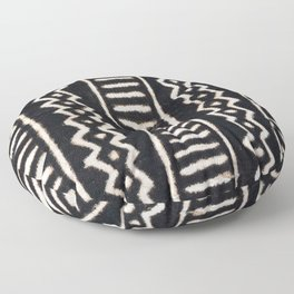 African Vintage Mali Mud Cloth Print Floor Pillow