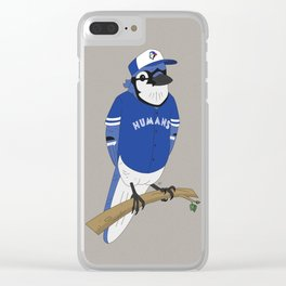 Go Humans Go! Clear iPhone Case