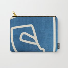 abstract minimal 57 Carry-All Pouch