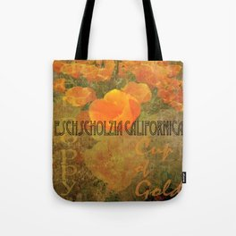 Cup of Gold - The California Poppy Tote Bag