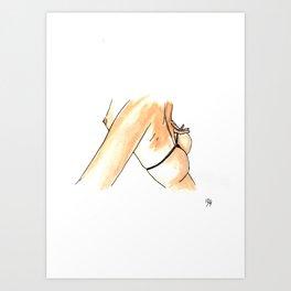 Femme 8 Art Print