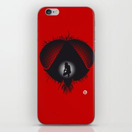 The Fly (Red Collection) iPhone Skin