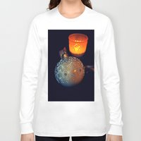 merry christmas Long Sleeve T-shirts featuring Merry Christmas by  Agostino Lo Coco