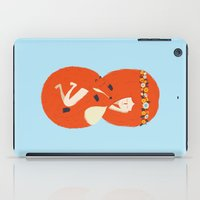 lady iPad Cases featuring Foxy Lady by Wharton