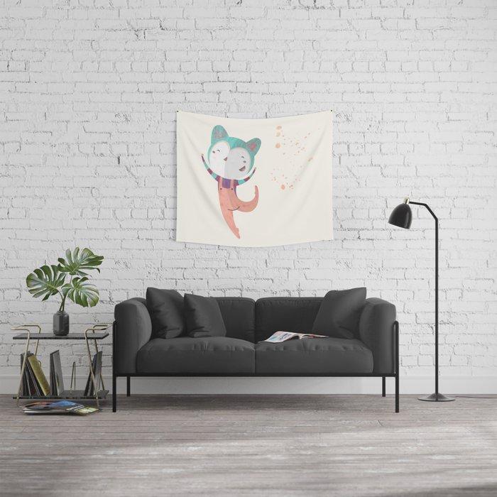 Dance Dreams (Cream) Wall Tapestry