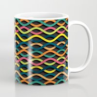 dna Mugs featuring DNA by Shkvarok