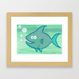 Happy Fish!!!! Framed Art Print