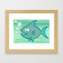 Happy Fish!!!! Framed Art Print