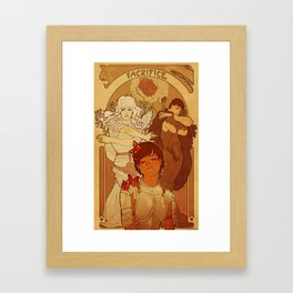 Sacrifice Framed Art Print