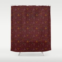 Pre old school Shower Curtain