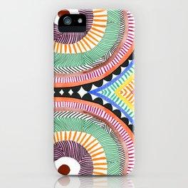 Primary Hypnosis iPhone Case