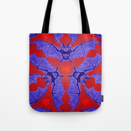 Vampire Blood Pattern Tote Bag