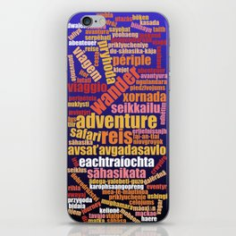 Adventure in Many Languages iPhone Skin