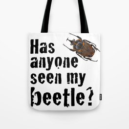 Beetle Search Tote Bag