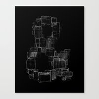 ampersand Canvas Prints featuring AMPersand by Jorge Garza