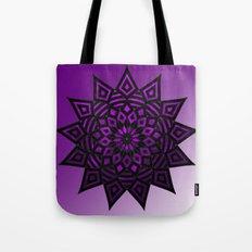 Purple Star | Tam Tam | Mandhala Tote Bag