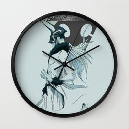 ichigo Hollow Bleach Wall Clock