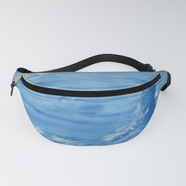 Baloon over windy ocean Fanny Pack