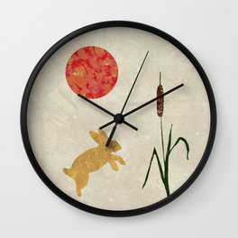 The Bunny Collection - Blood Moon Wall Clock