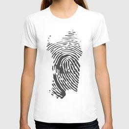 Sardinian fingerprint T-shirt
